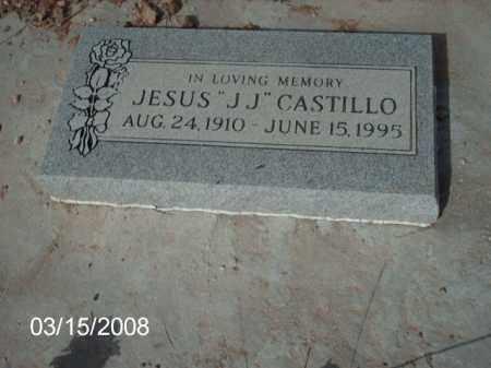 """CASTILLO, JESUS """"JJ"""" - Gila County, Arizona   JESUS """"JJ"""" CASTILLO - Arizona Gravestone Photos"""