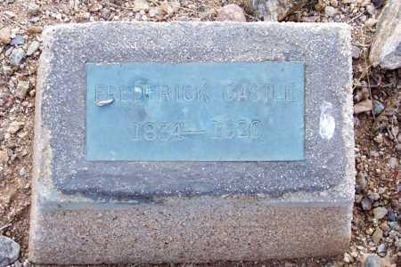 CASTLE, FREDERICK - Gila County, Arizona   FREDERICK CASTLE - Arizona Gravestone Photos