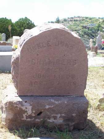 CHAMBERS, UNKLE JOHN H. - Gila County, Arizona | UNKLE JOHN H. CHAMBERS - Arizona Gravestone Photos