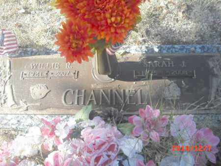 CHANNEL, WILLIE R. - Gila County, Arizona | WILLIE R. CHANNEL - Arizona Gravestone Photos