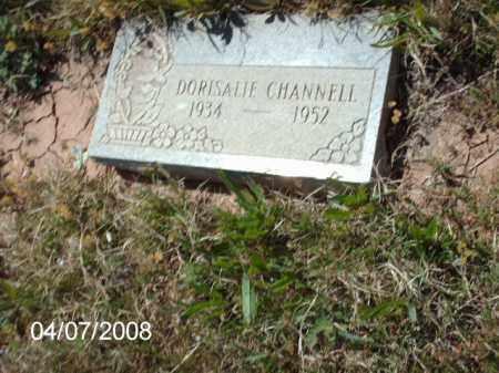 CHANNELL, DORISALIE - Gila County, Arizona | DORISALIE CHANNELL - Arizona Gravestone Photos