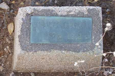 CHAPMAN, JAMES WES - Gila County, Arizona   JAMES WES CHAPMAN - Arizona Gravestone Photos