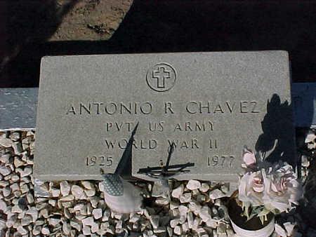 CHAVEZ, ANTONIO  R. - Gila County, Arizona   ANTONIO  R. CHAVEZ - Arizona Gravestone Photos