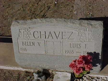 CHAVEZ, BELIN  V. - Gila County, Arizona | BELIN  V. CHAVEZ - Arizona Gravestone Photos