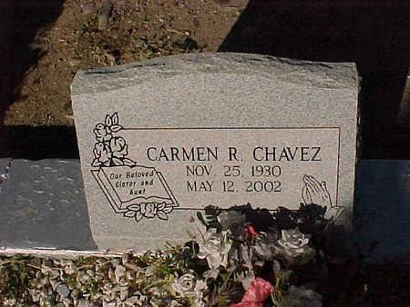 CHAVEZ, CARMEN  R. - Gila County, Arizona | CARMEN  R. CHAVEZ - Arizona Gravestone Photos