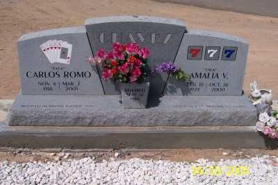 CHAVEZ, AMALIA V. - Gila County, Arizona | AMALIA V. CHAVEZ - Arizona Gravestone Photos