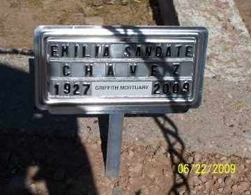 CHAVEZ, EMILIA - Gila County, Arizona | EMILIA CHAVEZ - Arizona Gravestone Photos
