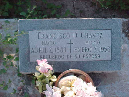 CHAVEZ, FRANCISCO  D. - Gila County, Arizona | FRANCISCO  D. CHAVEZ - Arizona Gravestone Photos