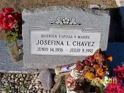 CHAVEZ, JOSEFINA  L. - Gila County, Arizona | JOSEFINA  L. CHAVEZ - Arizona Gravestone Photos
