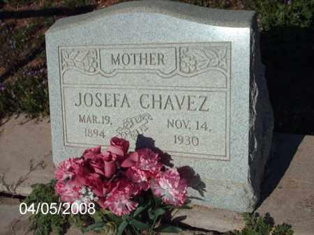 CHAVEZ, JOSEFA - Gila County, Arizona | JOSEFA CHAVEZ - Arizona Gravestone Photos
