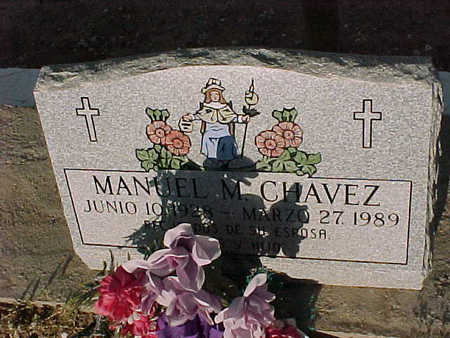 CHAVEZ, MANUEL  M. - Gila County, Arizona | MANUEL  M. CHAVEZ - Arizona Gravestone Photos