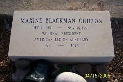 CHILTON, MAXINE - Gila County, Arizona | MAXINE CHILTON - Arizona Gravestone Photos