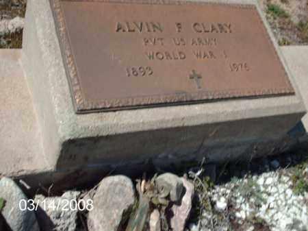 CLARY, ALVIN - Gila County, Arizona | ALVIN CLARY - Arizona Gravestone Photos