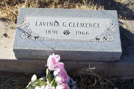 CLEMENCE, LAVINIA G. - Gila County, Arizona | LAVINIA G. CLEMENCE - Arizona Gravestone Photos