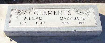 CLEMENTS, MARY JANE - Gila County, Arizona | MARY JANE CLEMENTS - Arizona Gravestone Photos