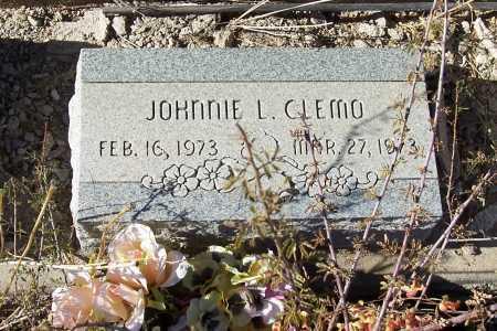 CLEMO, JOHNNIE L. - Gila County, Arizona | JOHNNIE L. CLEMO - Arizona Gravestone Photos