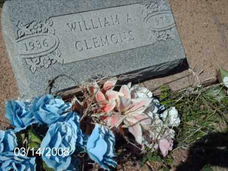 CLEMONS, WILLIAM - Gila County, Arizona | WILLIAM CLEMONS - Arizona Gravestone Photos