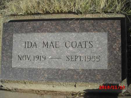 COATS, IDA MAE - Gila County, Arizona   IDA MAE COATS - Arizona Gravestone Photos