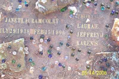 COLBY, JANET LAURA - Gila County, Arizona | JANET LAURA COLBY - Arizona Gravestone Photos