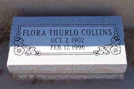 COLLINS, FLORA - Gila County, Arizona | FLORA COLLINS - Arizona Gravestone Photos