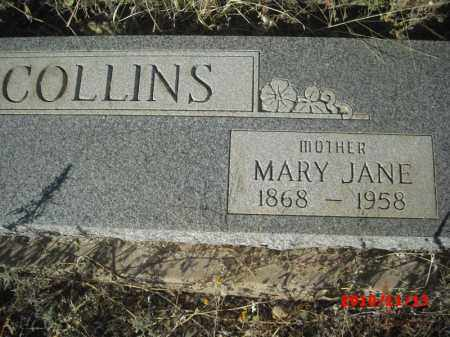 COLLINS, MARY JANE - Gila County, Arizona | MARY JANE COLLINS - Arizona Gravestone Photos