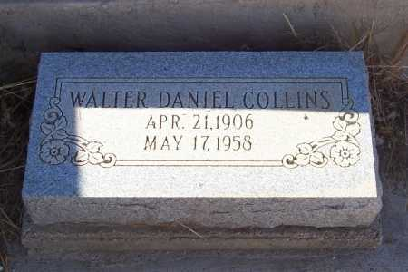 COLLINS, WALTER DANIEL - Gila County, Arizona | WALTER DANIEL COLLINS - Arizona Gravestone Photos