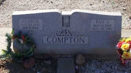 COMPTON, CLANCIE - Gila County, Arizona | CLANCIE COMPTON - Arizona Gravestone Photos