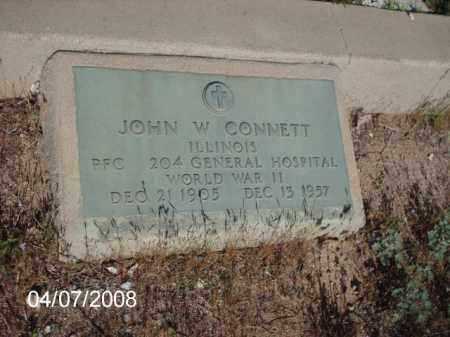 CONNETT, JOHN W. - Gila County, Arizona | JOHN W. CONNETT - Arizona Gravestone Photos