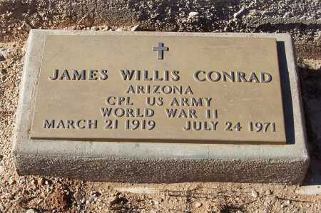 CONRAD, JAMES WILLIS - Gila County, Arizona | JAMES WILLIS CONRAD - Arizona Gravestone Photos