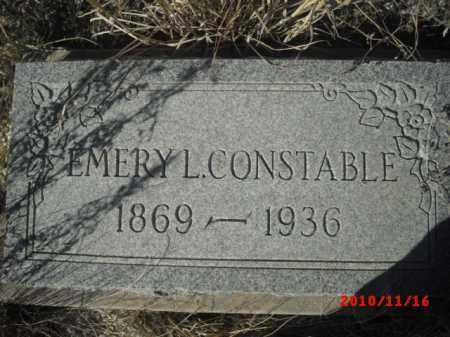 CONSTABLE, EMERY - Gila County, Arizona   EMERY CONSTABLE - Arizona Gravestone Photos