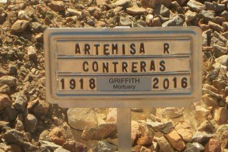 "CONTRERAS, ARTEMISA ""ARTE"" - Gila County, Arizona   ARTEMISA ""ARTE"" CONTRERAS - Arizona Gravestone Photos"