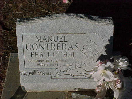 CONTRERAS, MANUEL - Gila County, Arizona | MANUEL CONTRERAS - Arizona Gravestone Photos