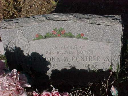 CONTRERAS, RAMONA  M. - Gila County, Arizona | RAMONA  M. CONTRERAS - Arizona Gravestone Photos