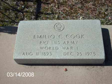 COOK, EMILIO - Gila County, Arizona | EMILIO COOK - Arizona Gravestone Photos