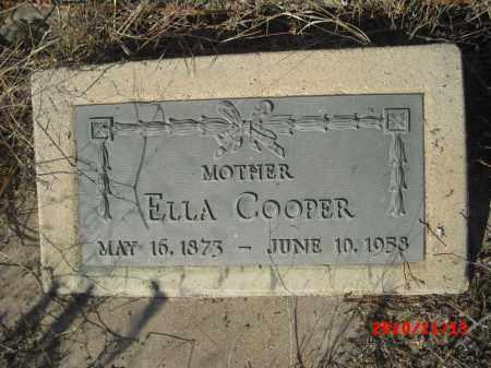 COOPER, ELLA - Gila County, Arizona   ELLA COOPER - Arizona Gravestone Photos