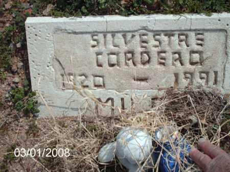 CORDERO, SILVESTRE - Gila County, Arizona | SILVESTRE CORDERO - Arizona Gravestone Photos
