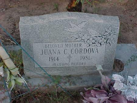 CORDOVA, JUANA  C. - Gila County, Arizona | JUANA  C. CORDOVA - Arizona Gravestone Photos
