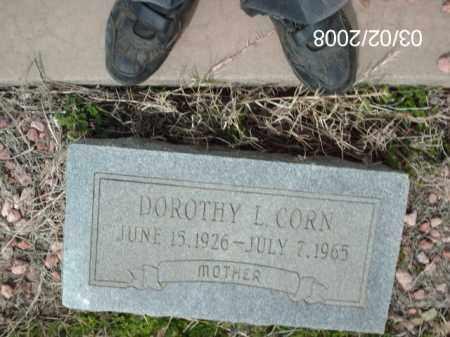 CORN, DOROTHY - Gila County, Arizona   DOROTHY CORN - Arizona Gravestone Photos