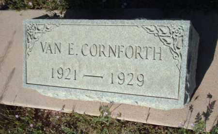 CORNFOURTH, VAN E. - Gila County, Arizona | VAN E. CORNFOURTH - Arizona Gravestone Photos