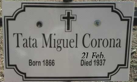 CORONA, MIGUEL - Gila County, Arizona | MIGUEL CORONA - Arizona Gravestone Photos