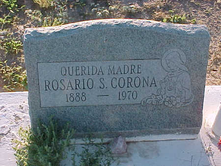 CORONA, ROSARIO  S. - Gila County, Arizona | ROSARIO  S. CORONA - Arizona Gravestone Photos