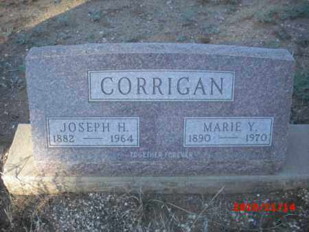 CORRIGAN, JOSEPH - Gila County, Arizona   JOSEPH CORRIGAN - Arizona Gravestone Photos