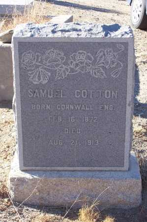 COTTON, SAMUEL - Gila County, Arizona | SAMUEL COTTON - Arizona Gravestone Photos