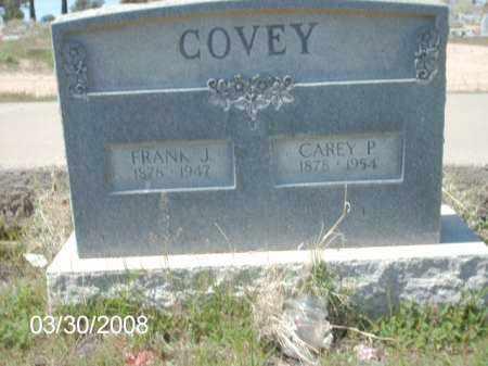 COVEY, FRANK J. - Gila County, Arizona | FRANK J. COVEY - Arizona Gravestone Photos