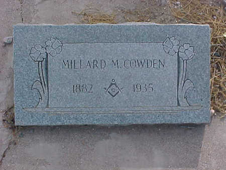COWDEN, MILLARD  M. - Gila County, Arizona | MILLARD  M. COWDEN - Arizona Gravestone Photos