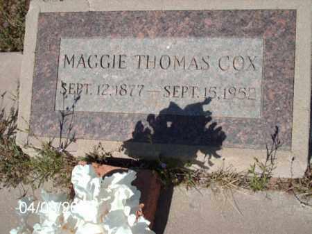 COX, MAGGIE THOMAS - Gila County, Arizona | MAGGIE THOMAS COX - Arizona Gravestone Photos