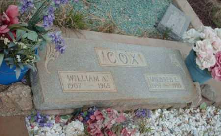 COX, WILLIAM A. - Gila County, Arizona | WILLIAM A. COX - Arizona Gravestone Photos