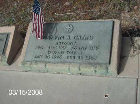 CRAIG, CALVIN - Gila County, Arizona | CALVIN CRAIG - Arizona Gravestone Photos