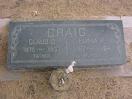 CRAIG, EMMA  R. - Gila County, Arizona   EMMA  R. CRAIG - Arizona Gravestone Photos