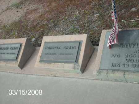 CRAIG, HARRELL - Gila County, Arizona | HARRELL CRAIG - Arizona Gravestone Photos